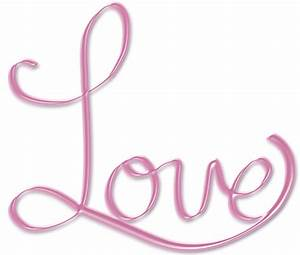 Pink Love PNG word art text by crysluvsjim on DeviantArt