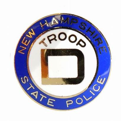 Police State Hampshire Troop Seal