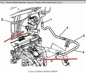 Loose Vacuum Line Diagram  My Car Has A Loose Vacuum Line