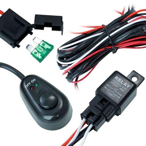 road atv jeep led light bar wiring harness 40