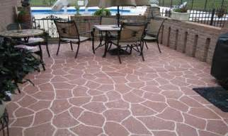 patio floor concrete patio floor pebble patio floor