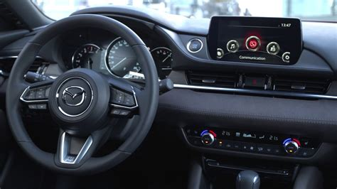 mazda facelift interior  driving footage youtube