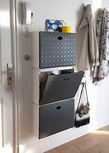 Meuble Vide Poche : meuble chaussure deco pinterest portes battantes ~ Teatrodelosmanantiales.com Idées de Décoration