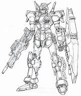 Gundam Coloring Pages Draw Mech Robot X4 Robots Printable Boy Sheet Wing Anime Sheets Exia Drawings Mecha Google Power Stuff sketch template