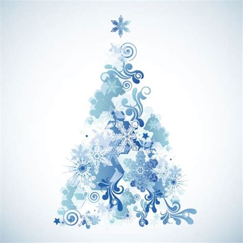 12 sets of free snowflake vector graphics for christmas 2012