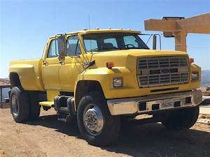 1991 Ford F800 Super Truck Diesel Only 86710 Miles Low