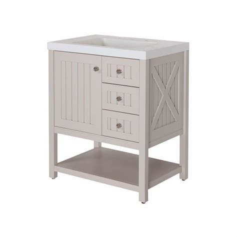 30 Inch Bathroom Vanity Home Depot by Martha Stewart Living Seal Harbor 30 Inch W Vanity In