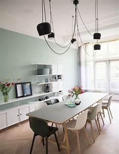 Plus de 70 exemples deco pour adopter lindemodable vert for Deco cuisine avec chaise bois clair