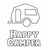 Coloring Camper Camping Pages Printable Rv Themed 5th Getcoloringpages Florida sketch template