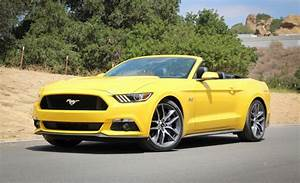 2015 Ford Mustang GT Convertible Manual Test | Review | Car and Driver