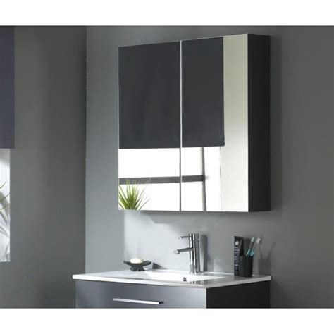 meuble haut de salle de bain avec miroir