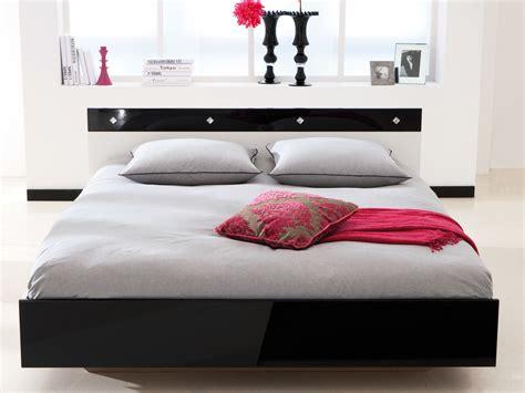 caisson bureau blanc lit noir blanc laqué
