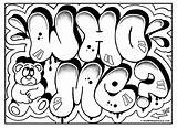 Coloring Graffiti Cool Pages Popular Draw Omg Room Another Signs sketch template