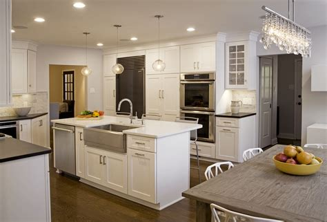 Transitional Kitchens Designs & Remodeling Htrenovations