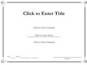 Free Microsoft Word Certificate Templates