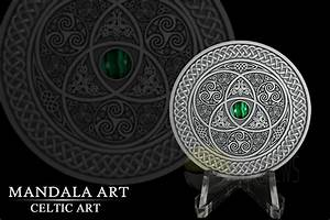 WMF 2016 Countdown: Exclusive look at Art Mints second Mandala coin going Celtic - AgAuNEWS