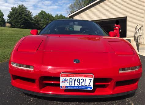 all original 1992 red exterior black interior acura nsx