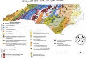 North Carolina Geologic Map