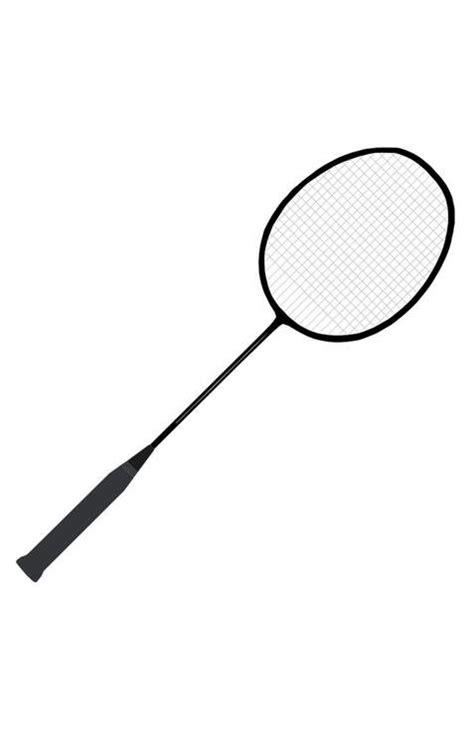 Kleurplaat Badminton by Kleurplaat Badminton Racket Afb 22712