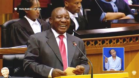 Own correspondent|a speech recently made by south african president cyril ramaphosa is alleged to have sparked a new wave of xenophobic attacks in south our nation cannot bear the pain of losing more lives in xenophobic attacks. Cyril Ramaphosa Speech Tonight Enca : ECR Newswatch ...