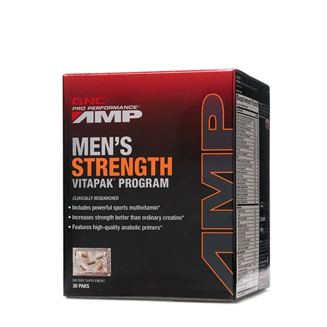 Amazon.com: GNC Pro Performance® AMP Ripped Vitapak