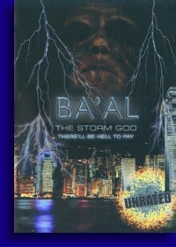 baal  storm god