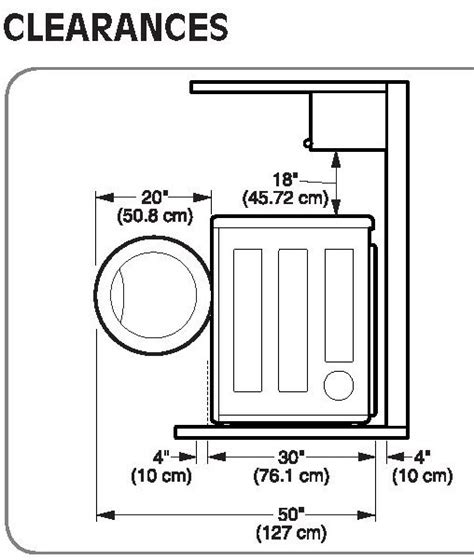 25+ Best Ideas About Stackable Washer Dryer Dimensions On