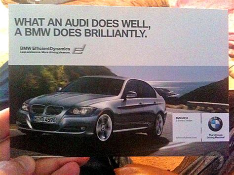 mercedes vs bmw ads the most banterous car ads ever