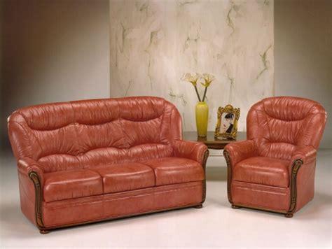 canapé cuir et bois rustique meubles merlin 10 photos