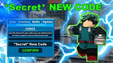 secret  code boku  roblox remastered roblox