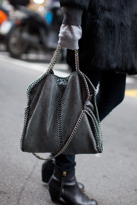 vluxury diy luxury inspiration stella mccartney bag