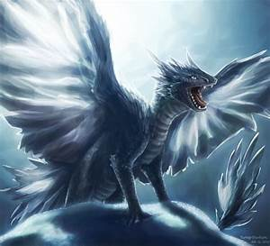 Ice dragon sibling #3 by turnipBerry on DeviantArt