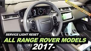 Range Rover Service Light Reset All Models 2017-