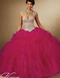 Sweet 15 Quinceanera Dresses Peach