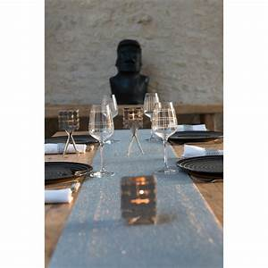 Chemin De Table Design : chemin de table en cotes de maille inox sign labo design ~ Teatrodelosmanantiales.com Idées de Décoration