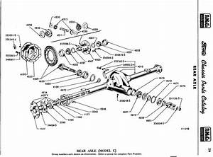 1956 Chassis Parts And Accessories-rear Axle
