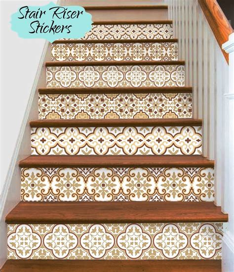 Removable Stair Riser Vinyl Decal by Pin By Joni Mantino On Home Decor In 2019 Stair Risers