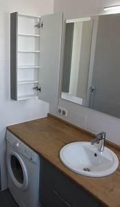 Lave Linge Dans Salle De Bain : votre lave linge complique l 39 agencement de votre salle de bain atlantic bain vous montre ~ Preciouscoupons.com Idées de Décoration
