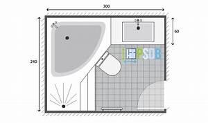 Plan Salle De Bain 7m2 : exemple de plan de salle de bain de 7m2 plans pour grandes salles de bain de 7m2 13m2 ~ Dode.kayakingforconservation.com Idées de Décoration