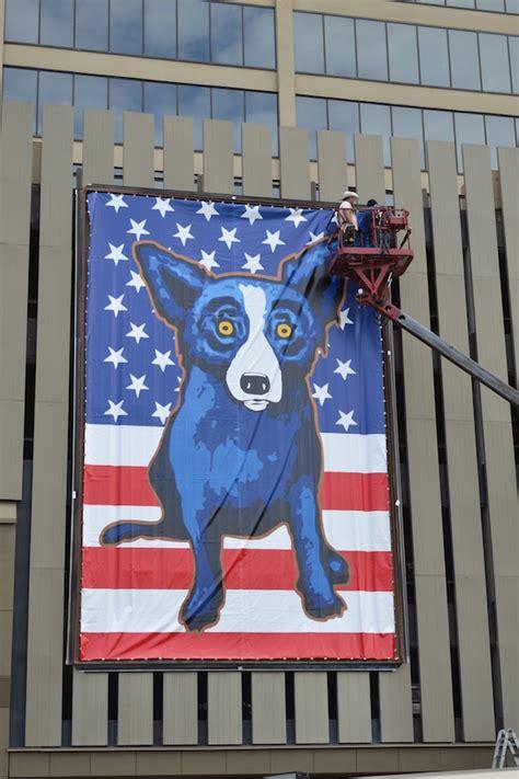 blue dog paintings   blues capital