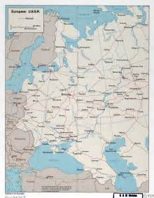 Large Detailed Map of Eastern Europe
