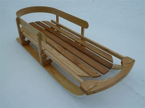 snow sled   boys finewoodworking