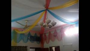 Home Decoration On Wedding Ceremony In Lahore - YouTube