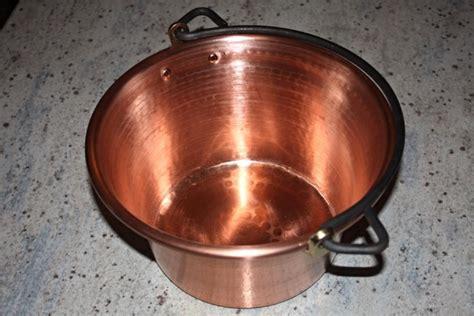 copper pot  polenta cm diameter