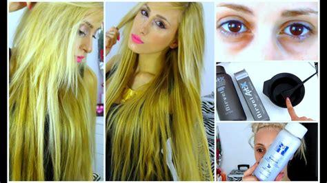 Golden Blonde Hair Colour & Lightening My