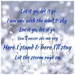 Frozen Let It Go Quote