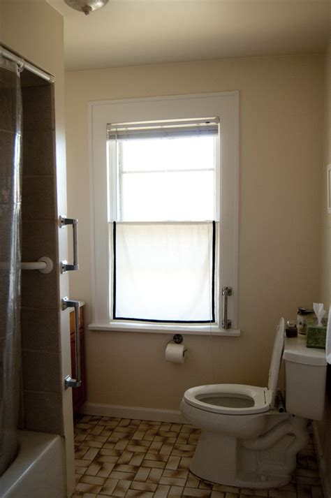 bathroom window curtain how to pretty