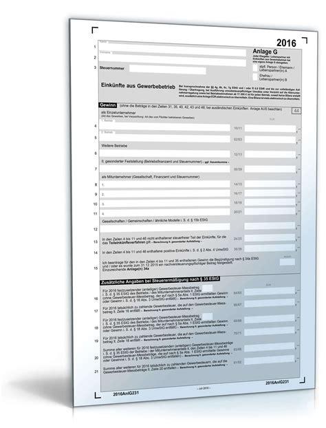 anlage   steuerformular zum