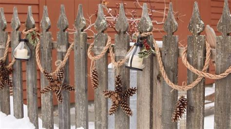 christmas garland create  outdoor display  lasts
