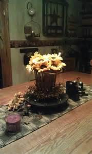 fall primitive decor country living